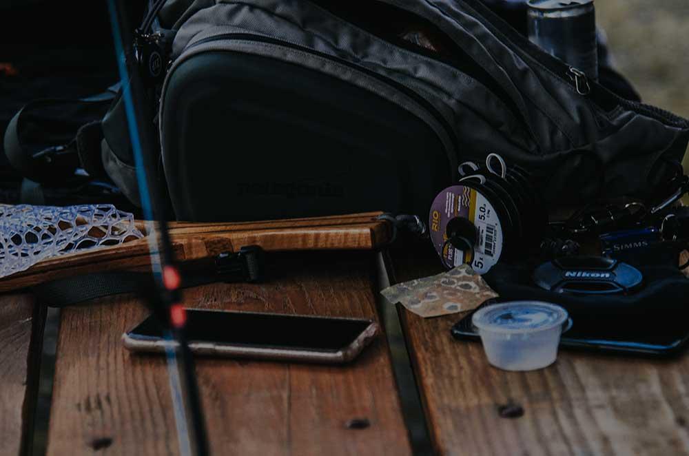 Backpacking Fishing Kit