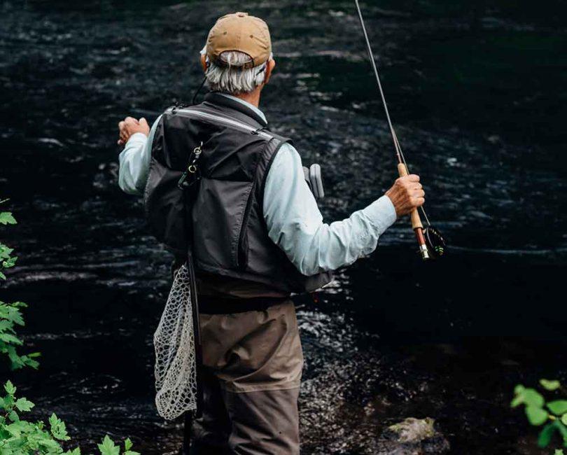 Folding fishing nets