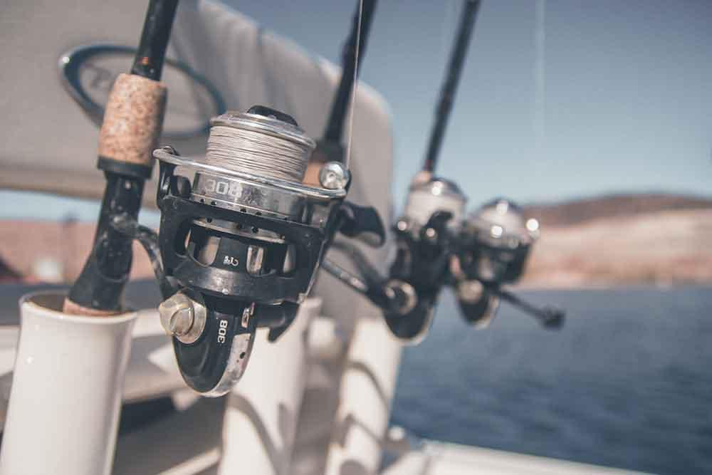 Homemade PVC fishing rod holders for boat