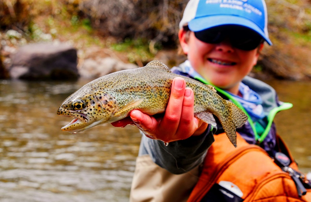 How to catch rainbow trout in a stocked pond